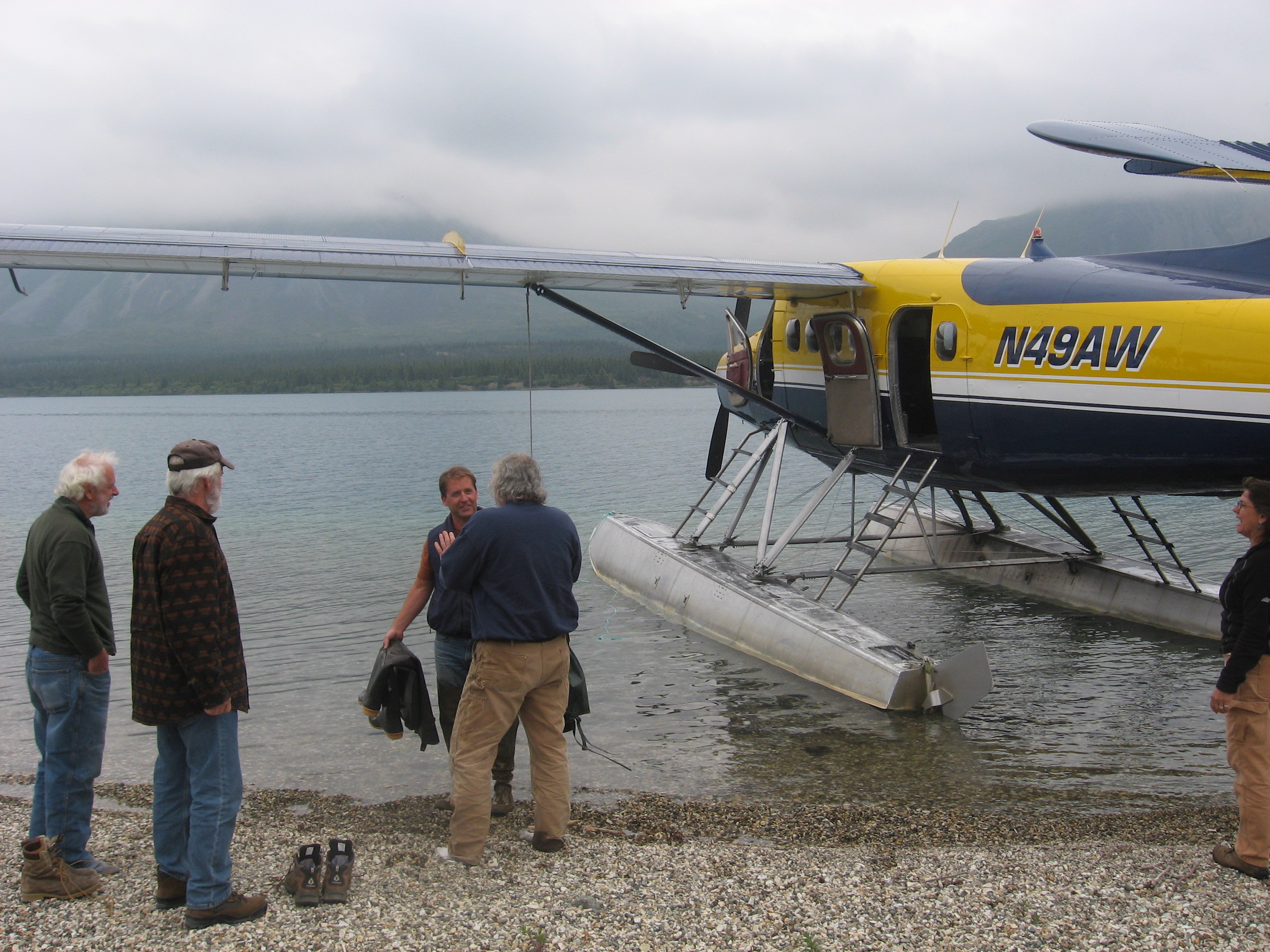 Float plane trip to Twin Lakes in Lake Clark National Park